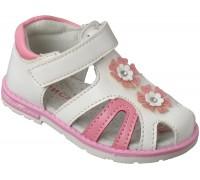 Сандалии детские для девочек «Алиса» белые