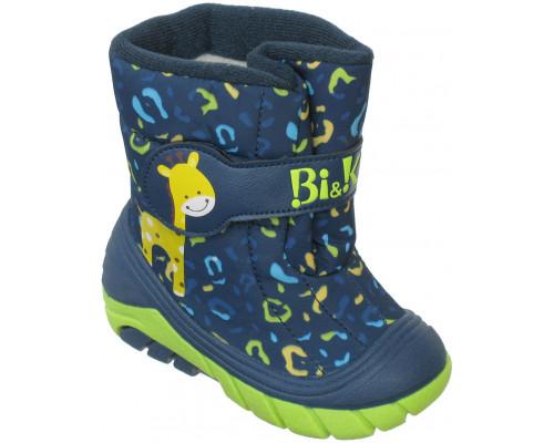Сноубутсы мембрана «Bi&Ki» синие