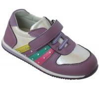 Туфли детские «Царевна» сирень