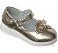 Туфли «Царевна» золотые