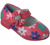 Туфельки для девочек «Цветочек» (21-26), L-29 арбуз