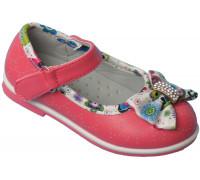 Туфельки на девочек «Цветочек» (21-26), L-1 арбуз
