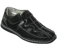Туфли на мальчиков «Дракоша» черные