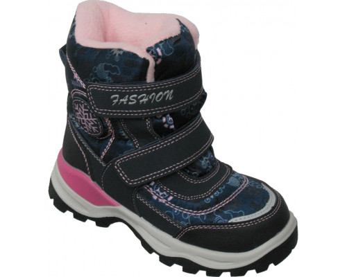 Ботинки мембрана зимние «Дракоша» синие