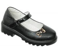 Туфли детские «Элиса» черные