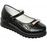 Туфли «Фантазия» черный лак