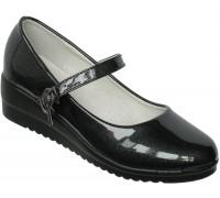 Туфли «Фантазия» черный перламутр