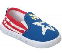 Кеды «Fashion» синие с красным