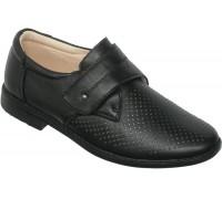 Туфли подростковые «Фаворит» черные