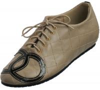 Туфли женские из искусственной кожи «Felli Step», бежевые
