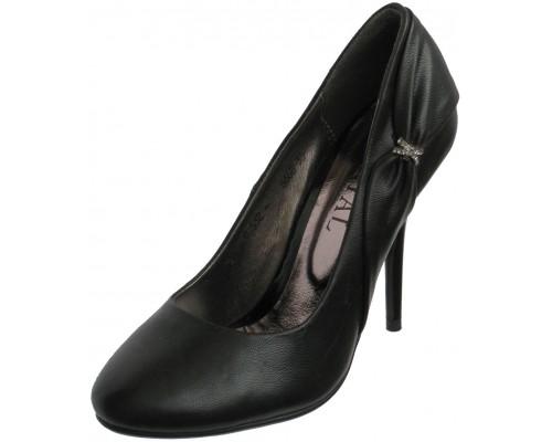 """Туфли женские """"Ideyal"""", черные"""