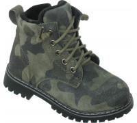 Ботинки  «Львенок» зеленые