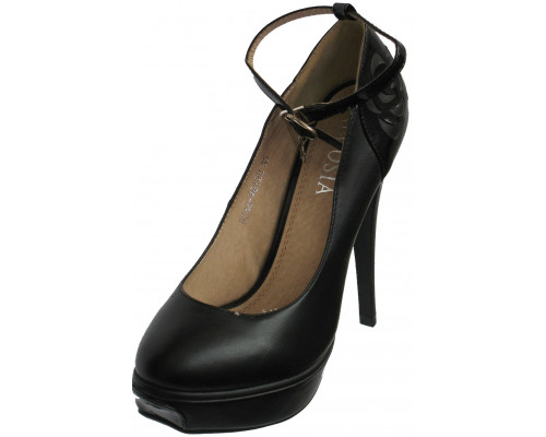 Туфли на платформе «Necosia», черные