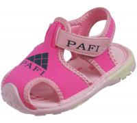 Сандали детские для девочек Pafi