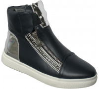 Ботинки «Pafi» темно-синие
