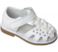 Сандалии детские для девочек «Pafi» белые
