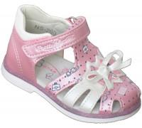 Сандали детские для девочек «Пчелка» розовые