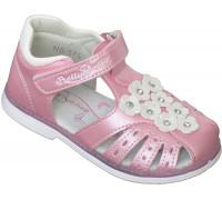 Сандалии детские для девочек «Пчелка» розовые