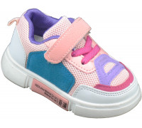 Кроссовки детские для девочек «Пчелка» розовые