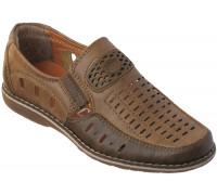 Туфли для мальчиков из искусственной кожи «R.Rocco», коричневые
