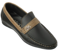 Туфли для мальчиков из искусственной кожи «R.Rocco», черные с отделкой