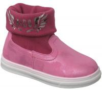 Ботинки «Шалунишки» розовые