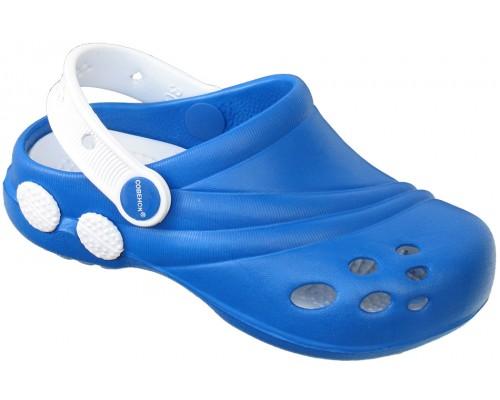 Кроксы «Совенок» синие