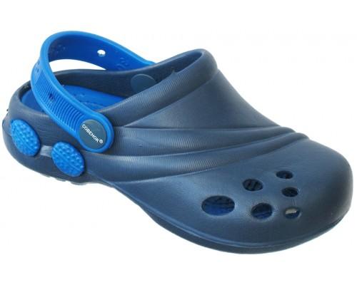 Кроксы «Совенок» темно-синие