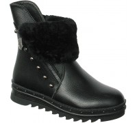 Ботинки «Совенок» черные