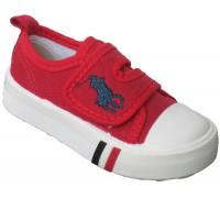 Кеды детские «Совенок» красные