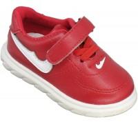 Кроссовки детские для малышей «Совенок» красные
