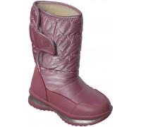 Сапоги зимние на двух липах для девочек «Загадка» (27-32), 963 розовые