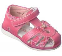 Сандалии детские для девочек «Загадка» розовые