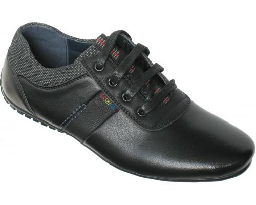 Туфли подростковые «Песня» черные