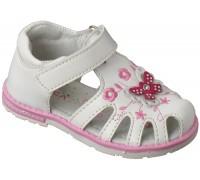 Сандали детские для девочек «Алиса» белые