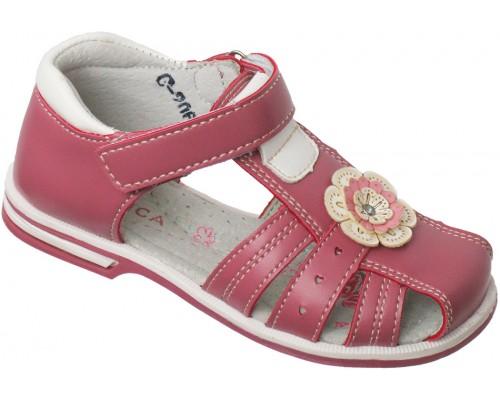 Сандали детские для девочек «Алиса» розовые