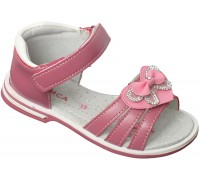 Сандали детские «Алиса» темно-розовые