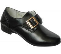 Туфли закрытые для девочек подростковые «АнгелДети» (31-36), 2012