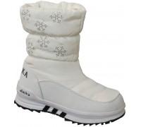 Сапоги зимние «Bulongyu» белые