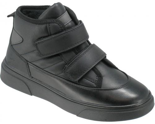 Ботинки демисезонные детские «Калория» черные