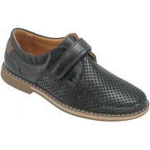 Туфли детские для мальчиков «Калория» черные
