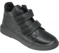 Ботинки демисезонные подростковые «Калория» черные