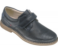Туфли школьные для мальчиков «Калория» темно-синие
