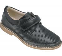 Туфли школьные для мальчиков «Калория» черные