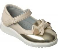 Туфли «Царевна» с золотом