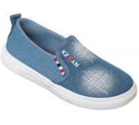 Кеды детские «Caroc» голубые