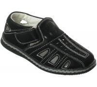 Туфли летние «Дракоша» черные