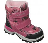 Ботинки мембрана зимние «Дракоша» розовые
