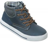 Ботинки демисезонные «Дракоша» темно-синие