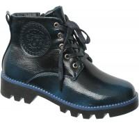 Ботинки «Фантазия», темно-бирюзовые